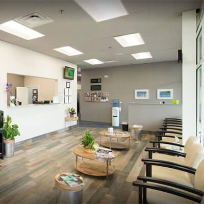 Damato Chiropractic Center lobby