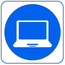Icon of laptop