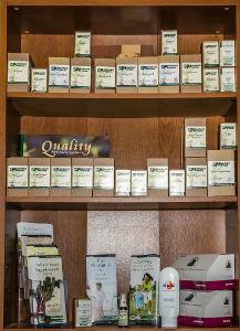 Nutritional supplements at Van Roo Family Chiropractic