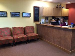Dr. Jim Ward Reception Area