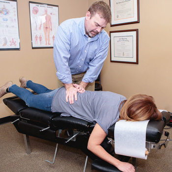 Chiropractic Adjustment by Dr. Dan