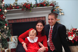 Dr. Booher with her family