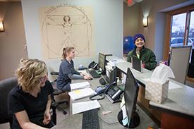 Broman Chiropractic & Wellness Center Front Desk Staff
