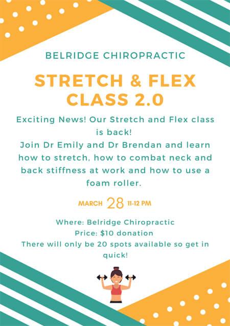 Stretch and Flex 2.0 class
