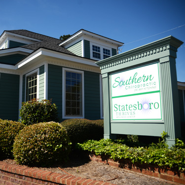 Exterior of Southern Chiropractic