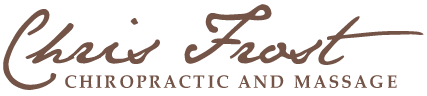 Chris Frost Chiropractic logo - Home