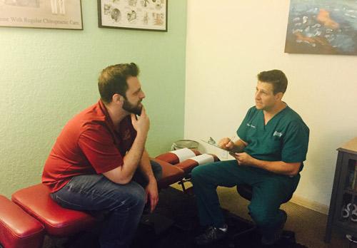 Deerfield Health & Wellness Chiropractor, Dr. Spicuzzo Regular visit