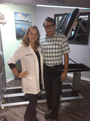 female dr and man