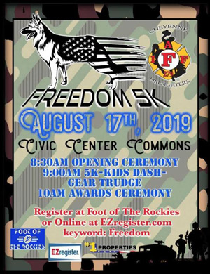 Freedom 5K flyer