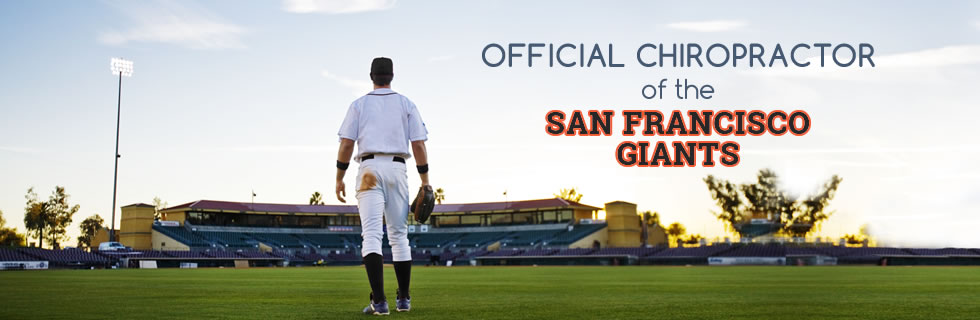 Official Chiropractor of San Francisco Giants!
