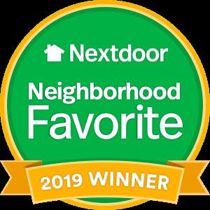 Nextdoor Neighborhood Favorite winner logo