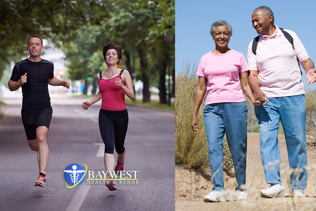 Walking or Running; Which One is the Best? | Baywest Health
