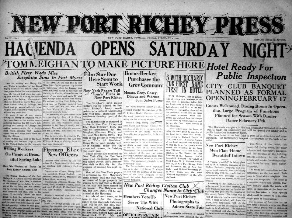Newport Richey Press