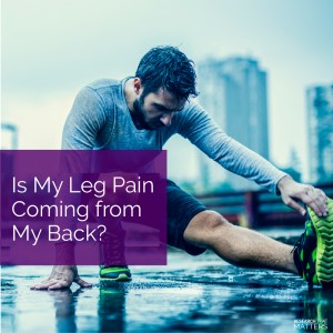 Week 3a - Is My Leg Pain Coming from My Back