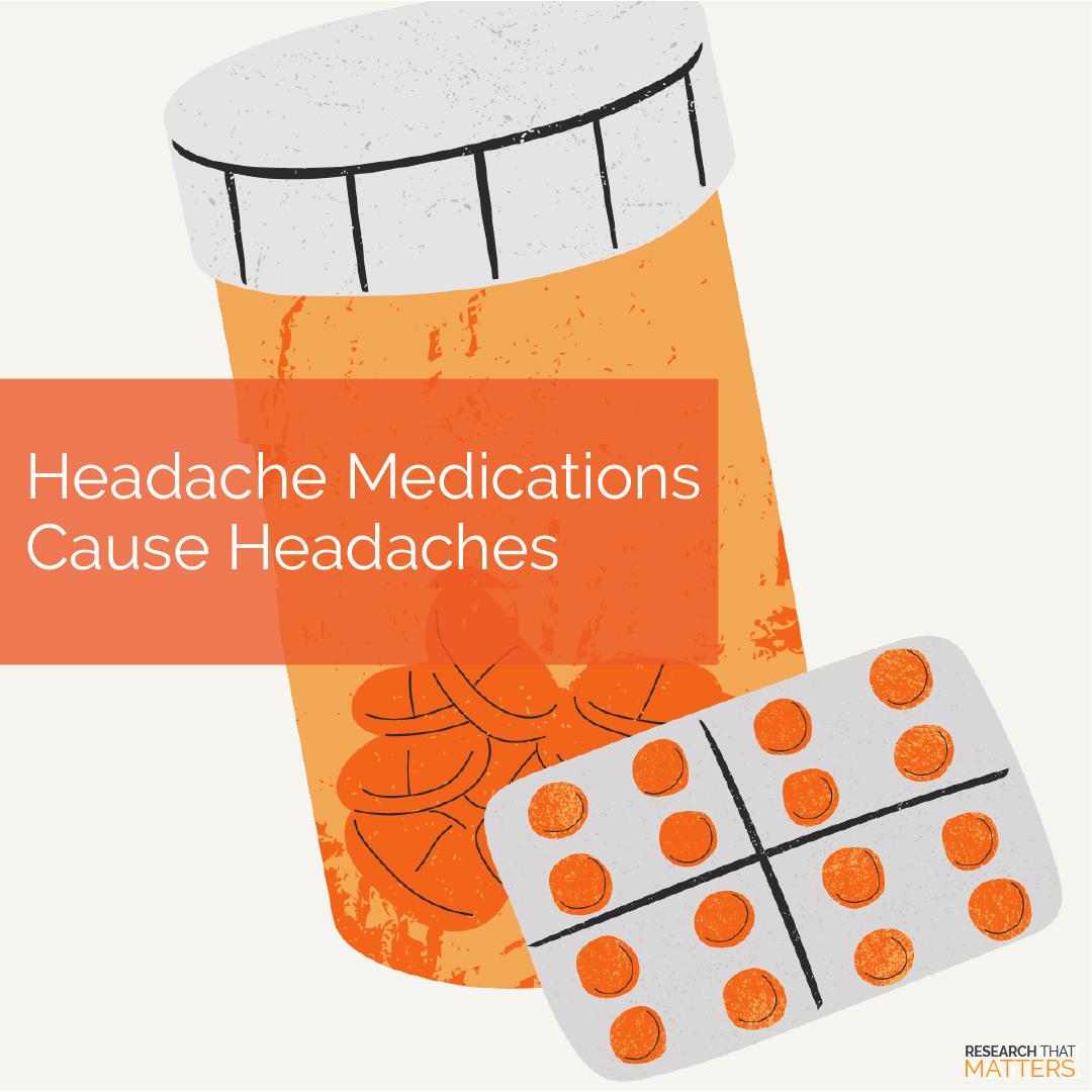 Week 4a -  Headache Medications Cause Headaches