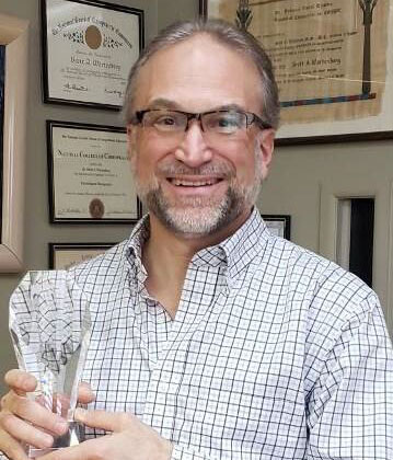 Doctor with Award