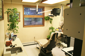 Dr. Thorne provides a variety of hygienic services.