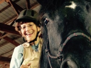 Maureen with horse