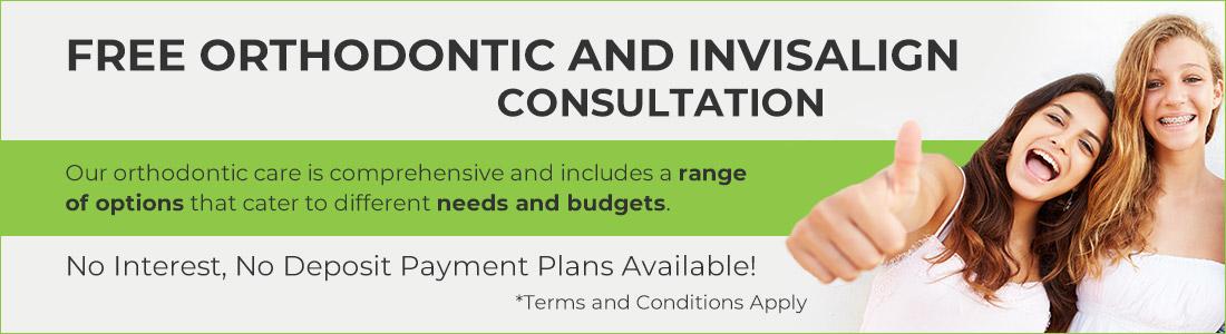 Free Orthodontic & Invisalign Consultation