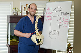 Dr. Josh Cole of Back and Neck Specialists.