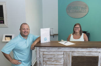 Foley Chiropractors, Dr. Chris and Dr. Jen Aliment