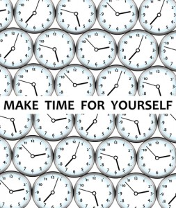 Are you making time for yourself?