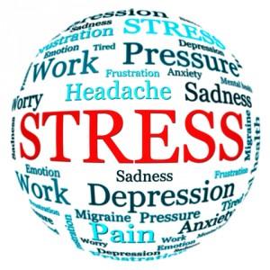 Stress can definitely make you sick and stuck but we need stress to grow and learn!