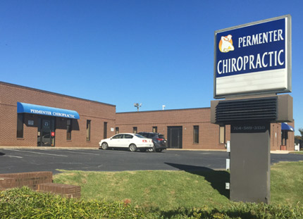 Permenter Chiropractic building in East Charlotte