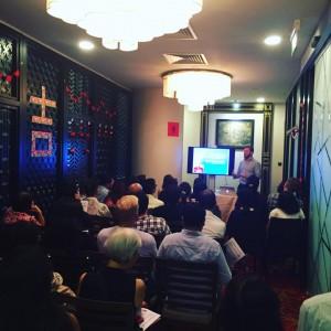 Presentation by Dr. Travis Fisher