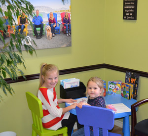 Pediatric chiropractic patients at Holroyd Family Chiropractic