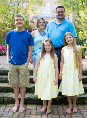 Portage Lakes Chiropractor Dr. Andrew Pamer and family