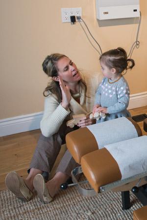 prenatal chiropractor in Barrie Keira Collins