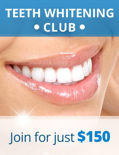 Teeth Whitening Club at Ranford Road Dental Centre