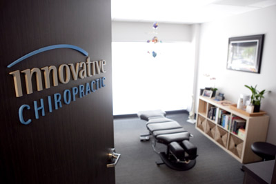 Innovative Chiropractic office space