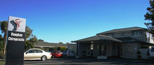 Our clinic entrance is clearly visible on Riccarton Road with plenty of car parking available.