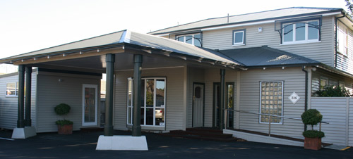 Our practice is located in a beautiful, character-rich building at 316 Riccarton Road..