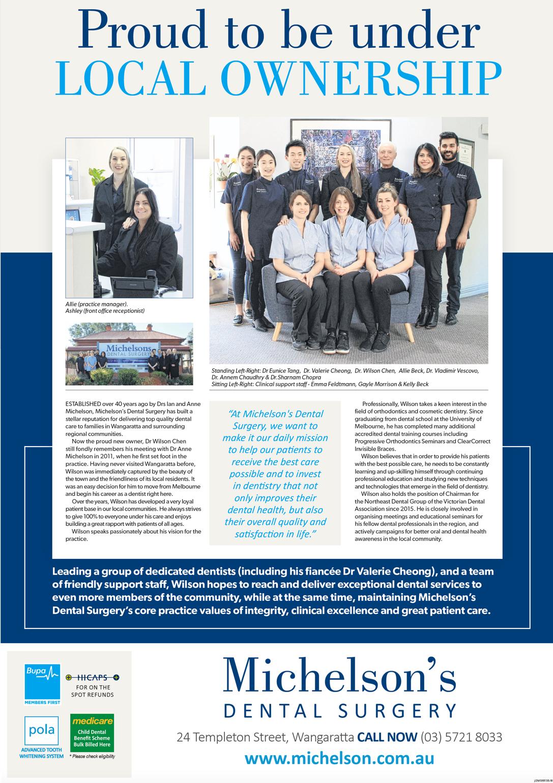 Wangaratta Chronicle Article