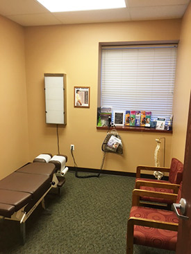 Parks Chiropractic Health Center Adjusting Room