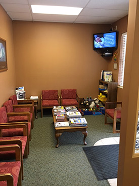Parks Chiropractic Health Center Waiting Room