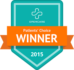 Opencare Patients Choice Winner 2015 Chung & Waggoner Health Center, Inc