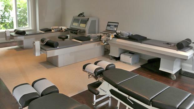 Moore Chiropractic Group Room