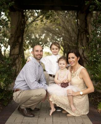 Trinity Chiropractor Dr. Stelios Zografakis and family
