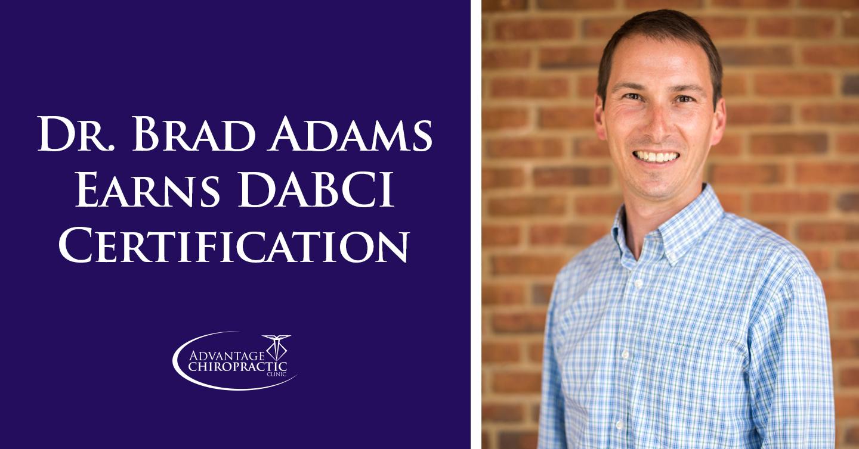 Dr. Brad Adams DABCI