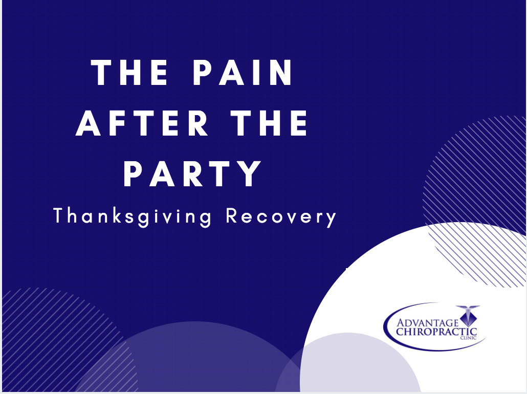 thanksgiving recovery, pain after thanksigiving