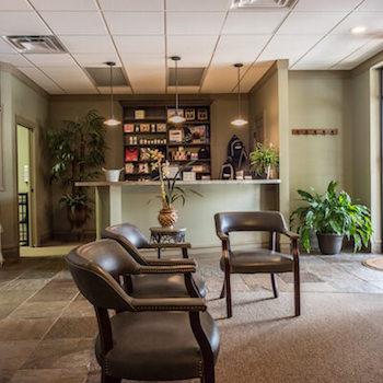Advantage Chiropractic Clinic lobby