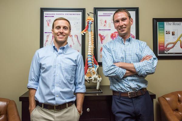 Dr. Thomas Vrbka (L) and Dr. Bradley Adams (R)