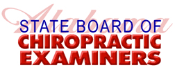 Alabama State Board Chiropractic Examiners logo