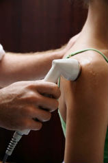 Therapeutic Ultrasound at Advantage Chiropractic Clinic