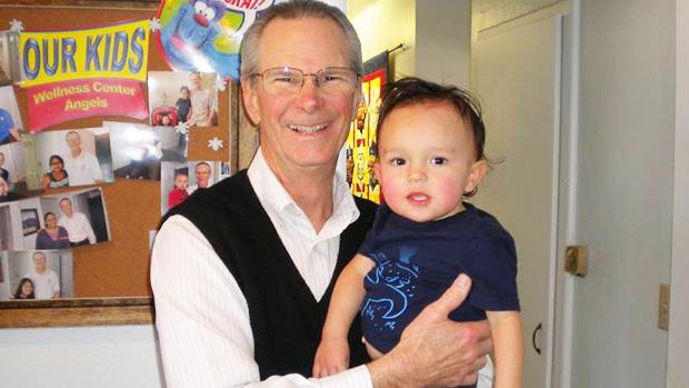 Dr. Majer, pediatric chiropractor in [PJ]