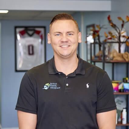 Chiropractor Mason City, Dr. Patrick Trenary